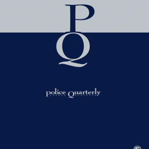 The cover of the Police Quarterly