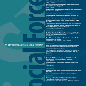Social Forces journal cover
