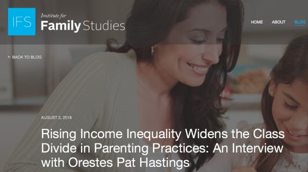 Institute for Family Studies screenshot