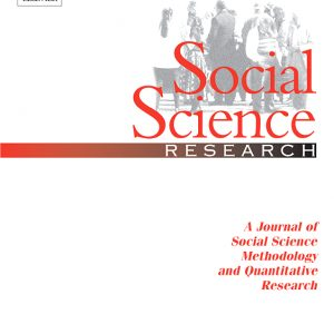 Social Science Research cover