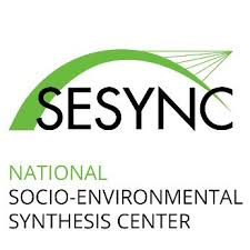National Socio-Environmental Synthesis Center (SESYNC) logo