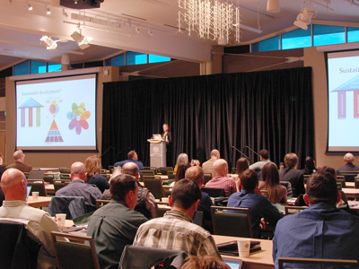 Hempel presenting at Forum