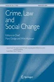 Crime, Law and Social Change cover