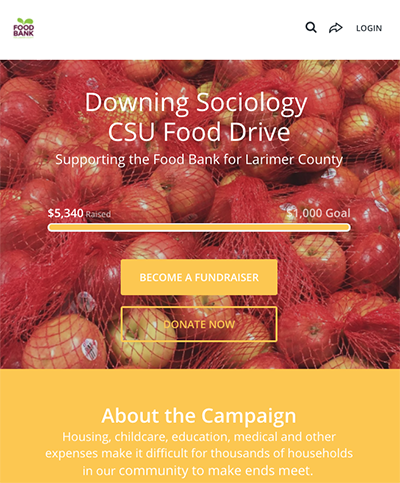 food drive screenshot