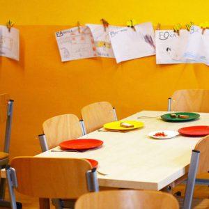 stock photo school lunchroom